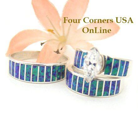 Native American Wedding Rings Navajo Turquoise Wedding Rings